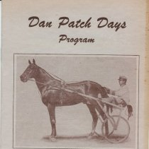 Image of Booklet, Dan Patch Days 1957