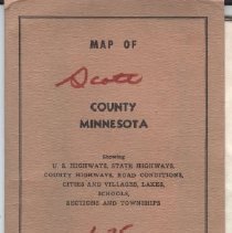 Image of Map, Scott County