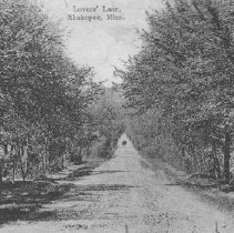 Image of Postcard, Lovers' Lane