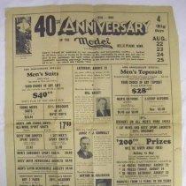 Image of 2003.070.0056 - Handbill, Trade