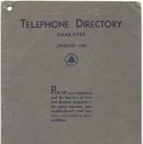 Image of 2005.055.0008 - Directory, Telephone