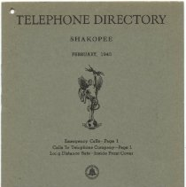 Image of 2005.055.0016 - Directory, Telephone