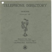 Image of 2005.055.0018 - Directory, Telephone