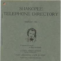 Image of 2005.055.0027 - Directory, Telephone
