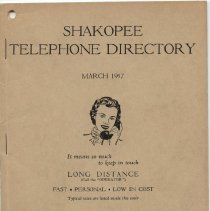 Image of 2005.055.0028 - Directory, Telephone
