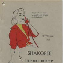 Image of 2005.055.0031 - Directory, Telephone
