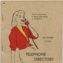 Image of 2005.055.0032 - Directory, Telephone