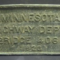 Image of 2005.061.0001 - Nameplate