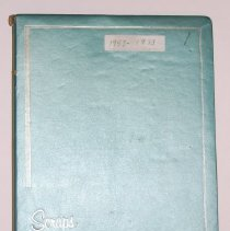 Image of 2006.054.0001 - Scrapbook