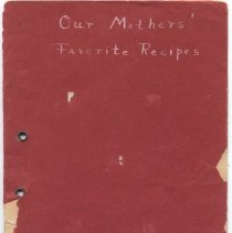 Image of Booklet, Mother's Recipes