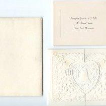 Image of Invitation, Wedding