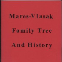Image of Booklet, Mares=Vlasak Family Tree