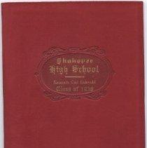 Image of 2009.049.0003 - Diploma