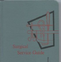 Image of Book, Surgical Service Guide