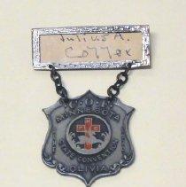 Image of 2012.014.0008 - Badge