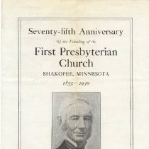 Image of Program, First Presbyterian Church