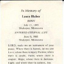 Image of 2012.014.0379 - Card, Prayer