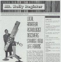 Image of 2012.029.0002 - Newsletter