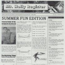 Image of 2012.029.0003 - Newsletter