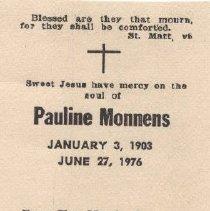Image of 2013.026.0015 - Card, Prayer