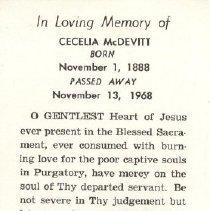 Image of 2013.026.0046 - Card, Prayer