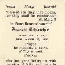 Image of 2013.026.0076 - Card, Prayer