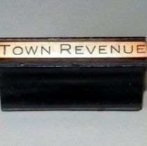 Image of Stamp, Town Revenue