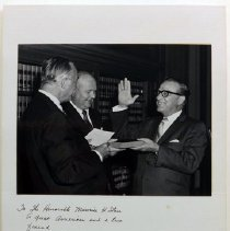 Image of Photo, Don Brewer's Oath of Office