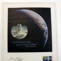 Image of Stamp, Postage, Moon Landing