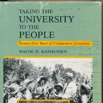 Image of Book, Taking the University to the People