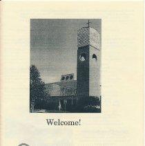 Image of Handbill, St. John the Baptist Catholic Church