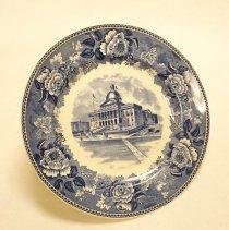 Image of 2008.005.0320 - Plate, Commemorative