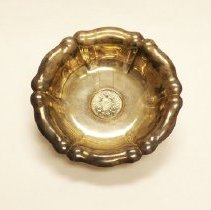 Image of Bowl, Silver, Maria Theresa Thaler
