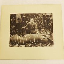 Image of Photo, Maurice Stans Hunting Trophy