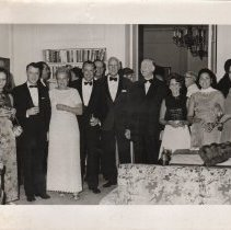 Image of Photo, Maurice Stans at a Reception