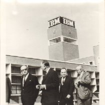 Image of Photo, Maurice Stans Touring IBM