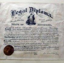 Image of 2006.017.0003 - Diploma