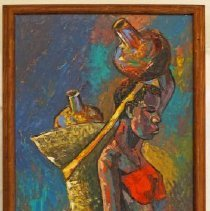 Image of Painting, African Woman