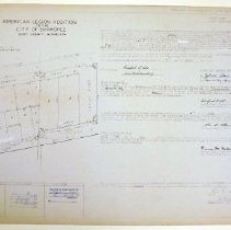 Image of Map, American Legion Addition