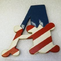 "Image of Sign, ""A"", Albrecht Circus"