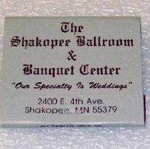 Image of Matchbook, Shakopee Ballroom & Banquet Center