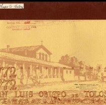 Image of 1772-1972 Bicentennial San Luis Obispo De Tolosa - 1772-1972 Bicentennial San Luis Obispo De Tolosa