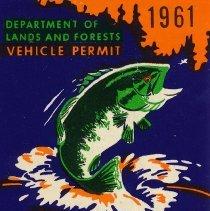 Image of 1992.13.7 - Permit