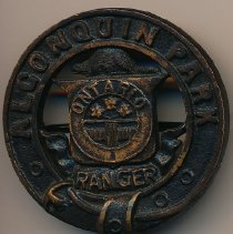 Image of Becker Ranger Badge