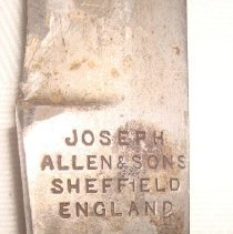 Image of Sheath Knife Makers Mark