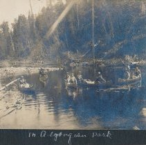 Image of Canoes in Algonquin