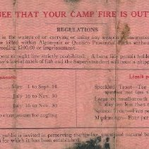 Image of 1928 Angling Permit (back)