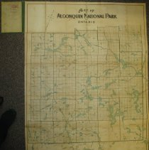 Image of A.J. Becker Map Unfolded