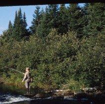 Image of Dr. Freeman Fishing