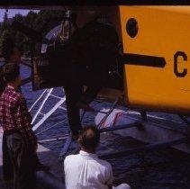 Image of 2014.16.91 - Dr. Herman Boarding Plane